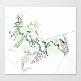 City of Plants Canvas Print