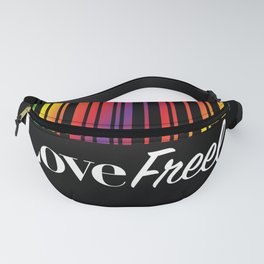 Love Freely Fanny Pack