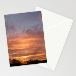 Sunset in Bell Buckle Stationery Cards
