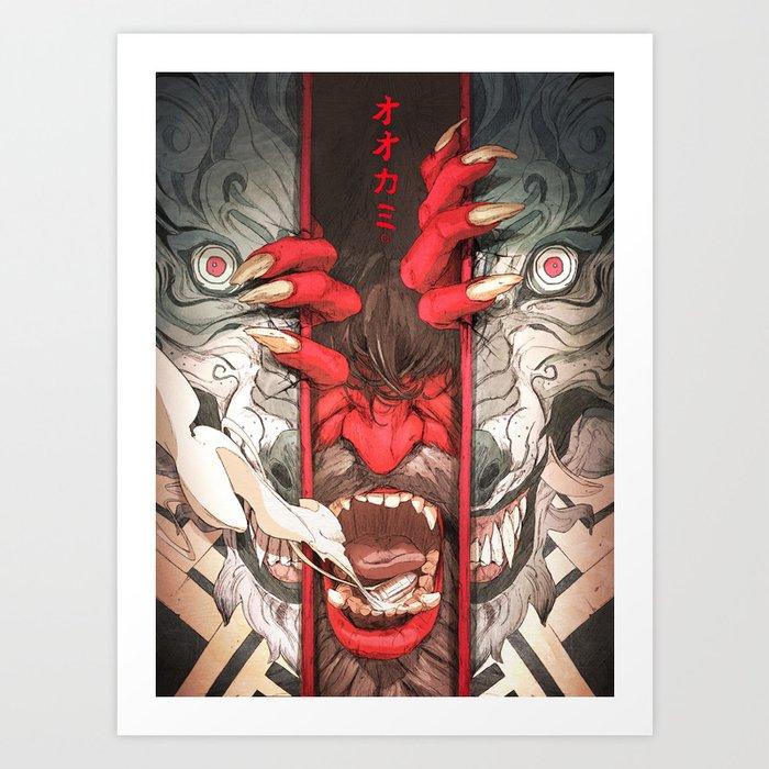 The Wolf Kunstdrucke