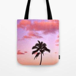 Lone Palm Tote Bag