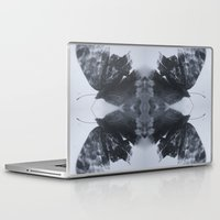 moth Laptop & iPad Skins featuring Moth  by Ali Prentice