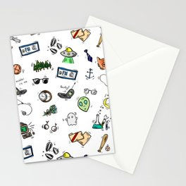 Spooky Doodles Stationery Cards