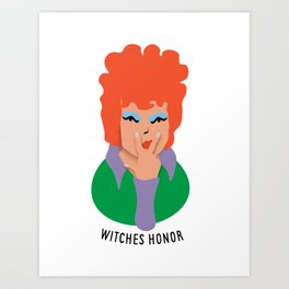 Witches Honor Art Print