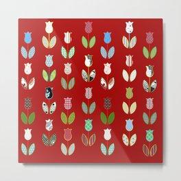 Tulips / 04 Metal Print