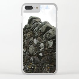 Stones on Stones Clear iPhone Case