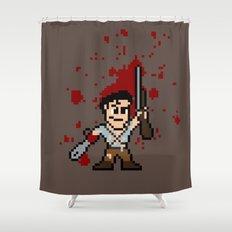 Pixel of Darkness Shower Curtain