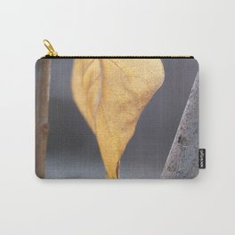 Glowing Lilac Leaf Carry-All Pouch