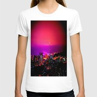 skyline T-shirts featuring City Skyline by 2sweet4words Designs