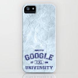 Google University iPhone Case