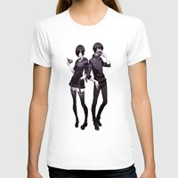 tokyo ghoul T-shirts featuring kaneki touka tokyo ghoul by Lee Chao Charlie Vang