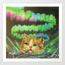 Mystic Pussy Art Print