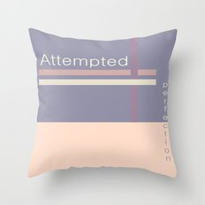 ATTEMPTED PERFECTION Throw Pillow