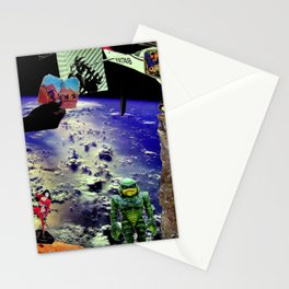 Weird Space Stationery Cards
