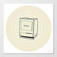 mac Canvas Print
