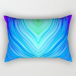stripes wave pattern 3 s180i Rectangular Pillow
