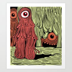 MonsterMold Art Print