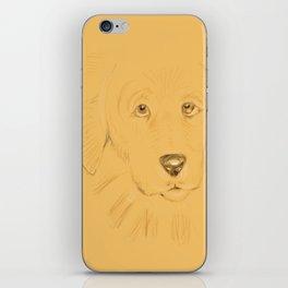 17- doggie…unleashed! iPhone Skin