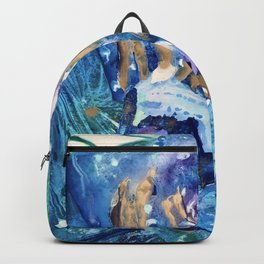 Golden Jellyfish Backpack