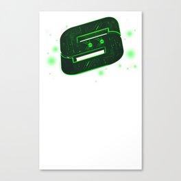 Storm Tech Green Canvas Print