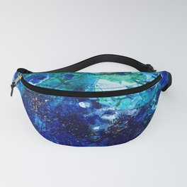 Look Down As The Rain Falls Into The Sea Fanny Pack