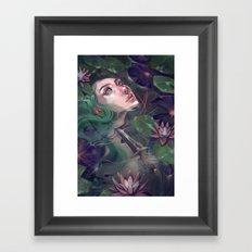 Spirit of the Lake Framed Art Print
