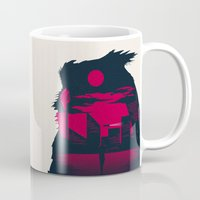 blade runner Mugs featuring Blade Runner by Inno Theme