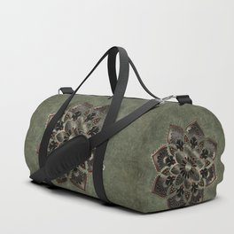 Wonderful noble mandala design Duffle Bag