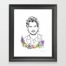 Louis Tomlinson Framed Art Print