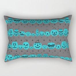 Trick or Treat Smell My Feet- Teal Pumpkin Project Rectangular Pillow