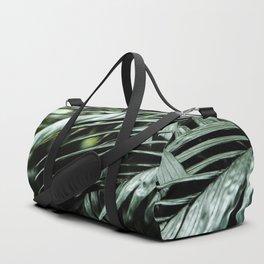 Tropical leaves 03 Duffle Bag