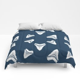 Sharks Tooth Pattern Comforters