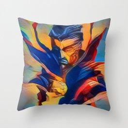 Dr Strange Throw Pillow