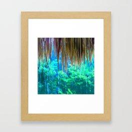 343 - Rainy day inside Framed Art Print