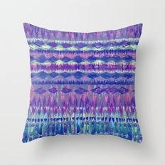 Ikat #8f Throw Pillow