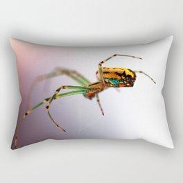 Colorful Spider Rectangular Pillow