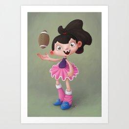 Ballet Tomboy Art Print