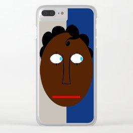 bbnyc's blue eyed black boy(donovan) Clear iPhone Case
