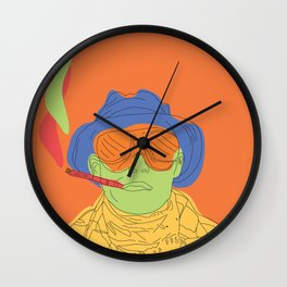 Fear and/or Loathing Wall Clock