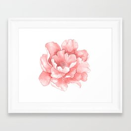 Beautiful Flower Art 21 Framed Art Print