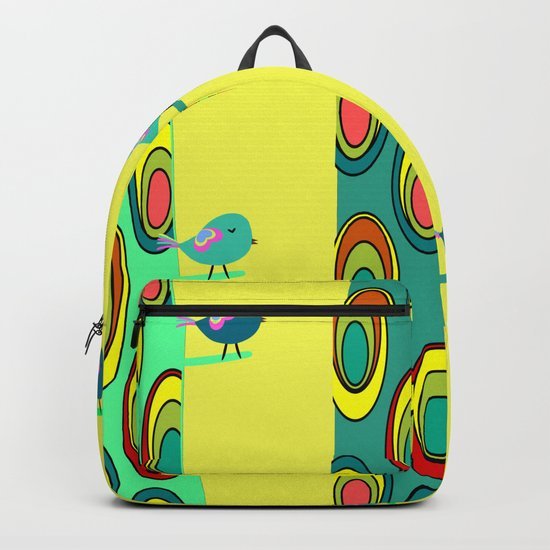 Birds in trees Backpack