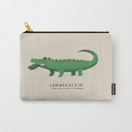 croc cannibalism Carry-All Pouch