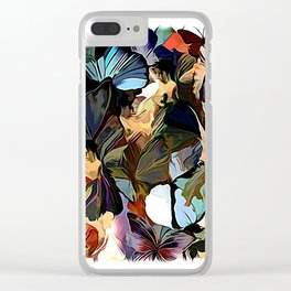 Fairies and Butterflies Communing With Nature Clear iPhone Case