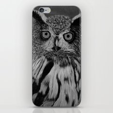 Owl B&W iPhone & iPod Skin