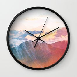 Mountain Glory #society6 #decor #buyart Wall Clock