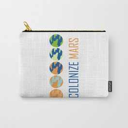 Colonize Mars Carry-All Pouch