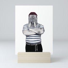 Ross the sailor Mini Art Print