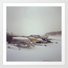 Canaan Valley, Winter Art Print