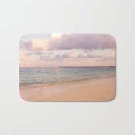 Dreamy Beach View Bath Mat