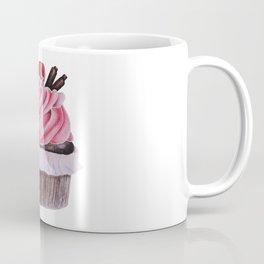 Chocolate Raspberry Cupcake Coffee Mug